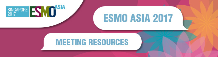 ESMO Asia 2017 Meeting Resources Banner