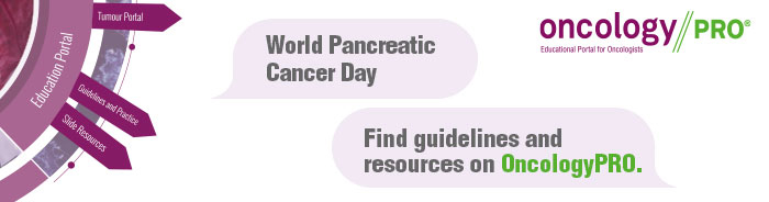 ESMO OncologyPRO World Pancreatic Cancer Day