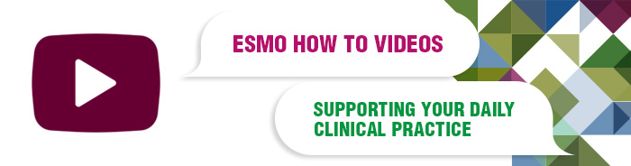 ESMO How to Videos