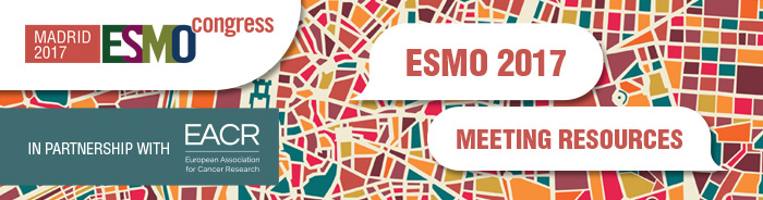 ESMO 2017 Meeting Resources Banner