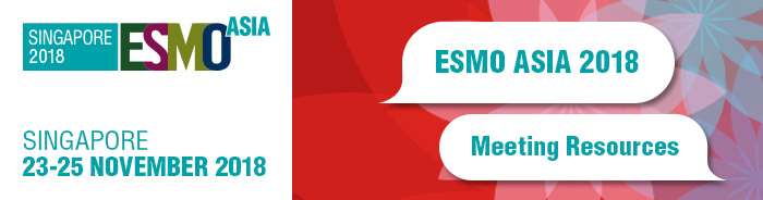 ESMO Asia 2018 Banner Meeting Resources